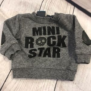 Mini rock star sweatshirt BXY22